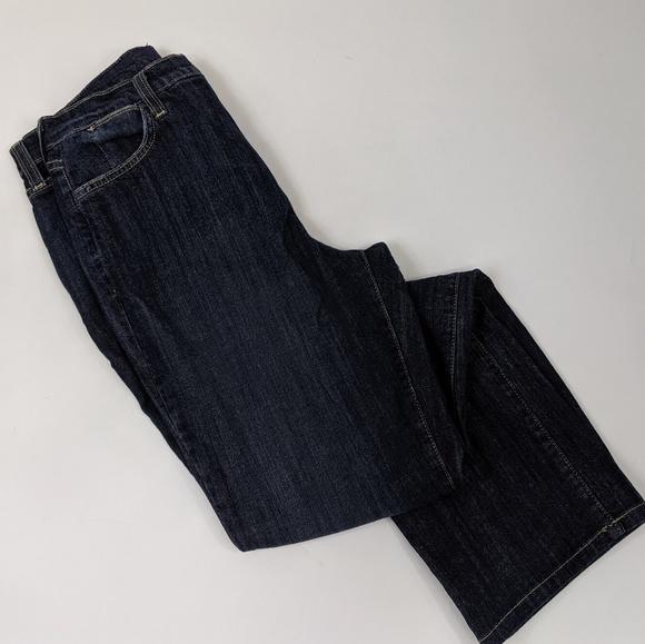 NYDJ Denim - NYDJ high rise lift tuck straight leg jeans